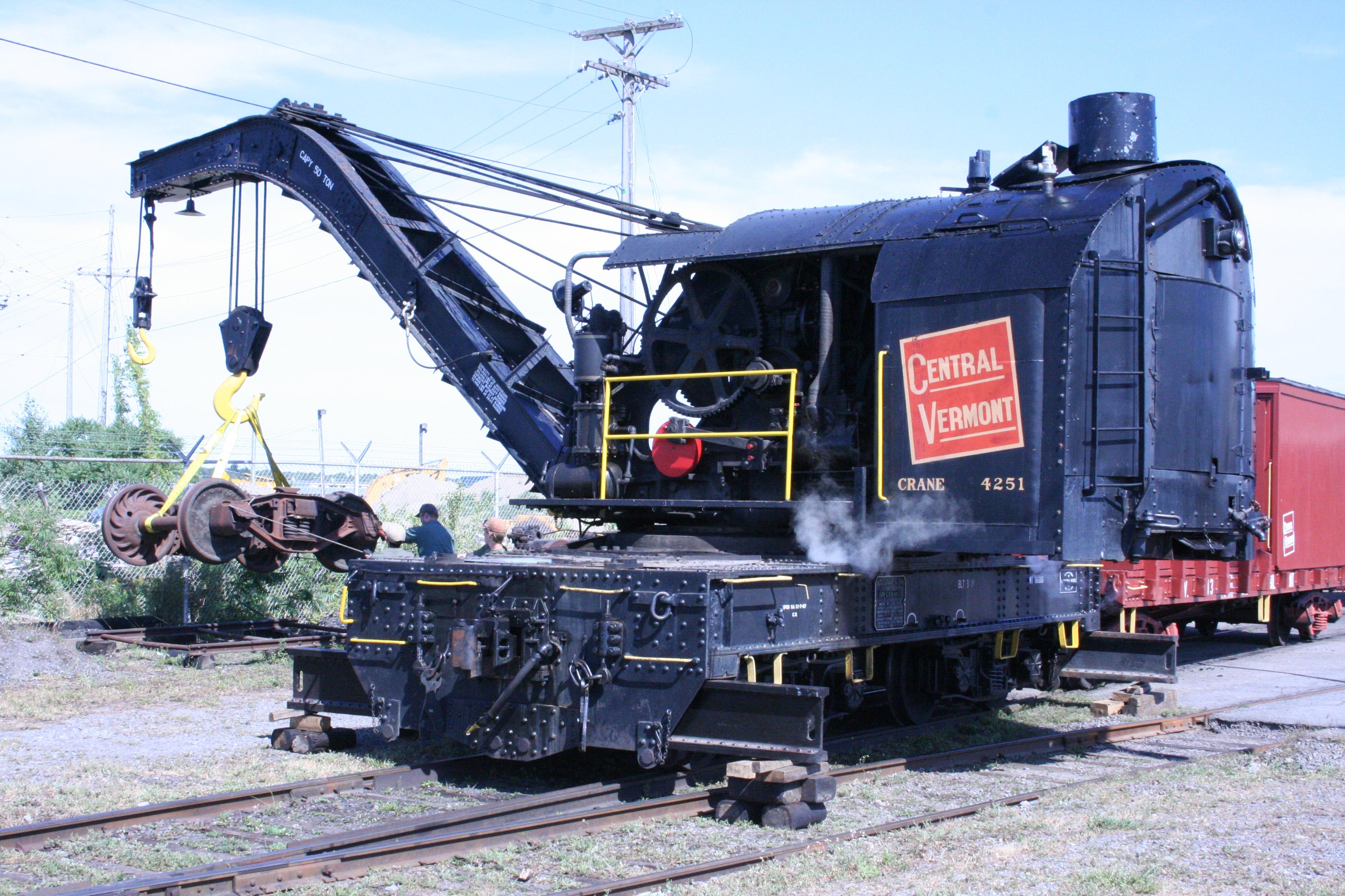 Steam Crane