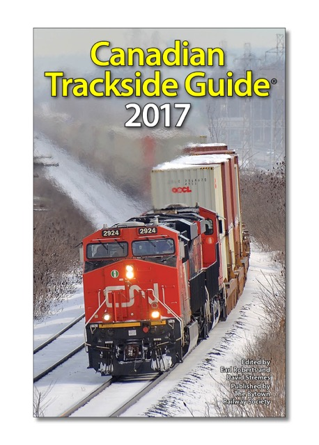 Picture of The Canadian Trackside Guide 2017 Publication