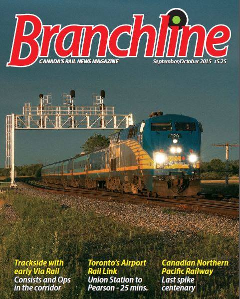 Picture of Branchline - Canada's Rail News magazine